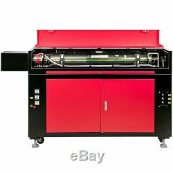100W CO2 Laser Engraving Cutting Machine 900x600mm Engraver Cutter USB Disk