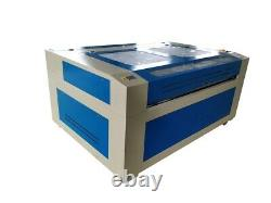 100W HQ1610 CO2 Laser Engraving Etching Cutting Machine Cutter Rubber Leather