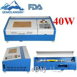 12 x 8 40W CO2 Laser Engraver Cutter Worktable Engraving Cutting Machine