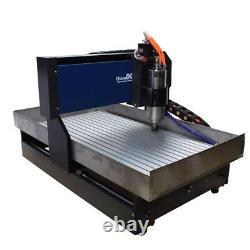 2200W Steel 6040 4Axis engraving machine Linear guide milling/ Cutting machine