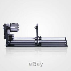 230mm Rotary Axis 3-Jaw Co2 Laser Cutting Machine 60With80With100With130W USB