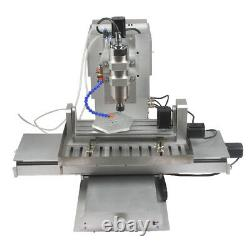 2.2KW 5-axis 6040 CNC Router Engraver Engraving USB Port Cutting Milling Machine