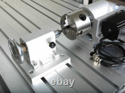 2.2KW CNC Router 6040 4Axis Mach3 USB Engraving CNC Cutting Milling Machine US