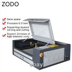 4060 50W Wood Desktop CO2 Laser Engraving Cutting Machine With RUIDA By Express