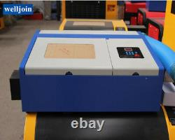 40W Laser Engraver Engraving Cutting Cutter machine 300200 Work Table GY-320
