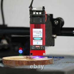 40W Laser Module 450nm Engraving Laser Head Wood For CNC Router Cutting Machine