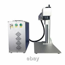 50w Raycus fiber laser marking machine for cutting metal gold silver jewelry 1mm
