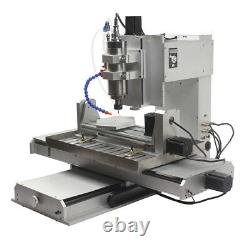 5-axis 6040 CNC Router Engraver Engraving USB Port Cutting Milling Machine 2.2KW