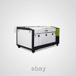 60W Laser Engraving and Cutting Machine With Motorized Table 16''x24' LaserDRAW