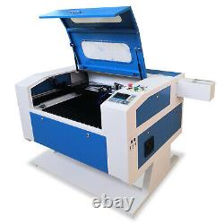 700x500mm 60W CO2 USB Laser Engraving Cutting Machine Engraver stand