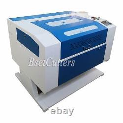 80W Co2 Laser Engraving and Cutting Machine 28'' x 20'' Motor Z CW-3000 chiller