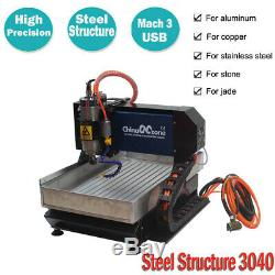 CNC 3040 3axis Router Engraving Cutting Machine Mach3 USB SteelStructure Machine