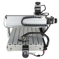 CNC 3040 4-Axis 500W Engraving Machine Cutting Router Engraver & USB CNC Cable