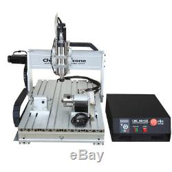 CNC 6040 4Axis 2200W Router Mach3 USB Engraving Cutting/Milling Machine US Stock
