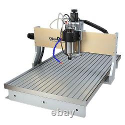 CNC 6090 Router Milling Engraving Machine 4axis 2200W cutting Machine & Sink