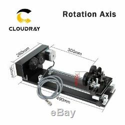 CNC Roller Rotation Axis Rotary Attachment Rotate Engraving for Cutting Machine