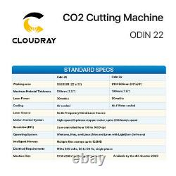 Cloudray 30W Air Cooled THUNDER CO2 Laser Cutting Engraving Machine