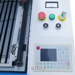 Electric 80W CO2 LASER ENGRAVING and CUTTING MACHINE 39'' x 24'' CW-3000 chiller