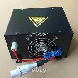 HQ Professional 40W Power Supply for CO2 Laser Engraving Cutting Machine 220V