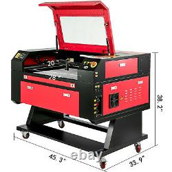 Laser Engraver Cutting Machine 60W + CW-3000 Industrial Water Cooler Chiller