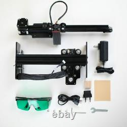 Laser Engraving and Cutting Machine 20W 2 Axis Kit DIY Wood Carving Logo Picture