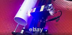 Metal Engrave Cylindrical CAD Laser Engraving Cutting Machine Printer 7W A Axis