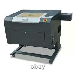 NEW! 50W USB CO2 Laser Engraving Cutting Machine+Free Extra Lenses 500x300mm