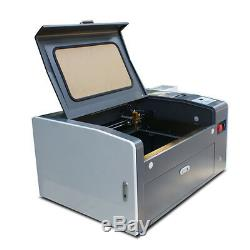 New! 50W CO2 LASER ENGRAVING&CUTTING MACHINE 300mm500mm FOB Qing Dao
