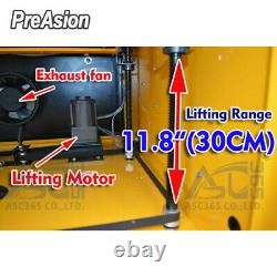 PreAsion 60W CO2 Laser Engraving Machine Cutting Red-dot Position Linear Guide