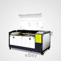 RUIDA 80W Co2 Laser Engraving and Cutting Machine With Motorized Table 16''x24