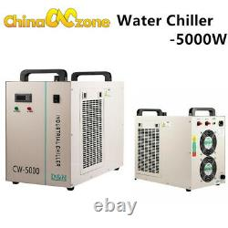 SL-1060 100W Laser Machine DSP CO2 laser Engraving cutting With CW-5000 Chiller