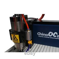 Steel CNC 3040 3axis Engraving Cutting Machine For Metal Jade Steel DIY Router