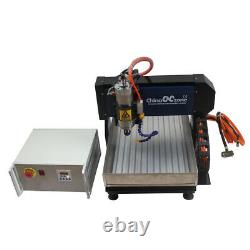 Steel CNC 3040 3axis Router Engraving Cutting Milling Machine Mach 3 USB DIYUS