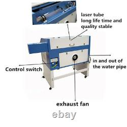 TS4060 80w laser engraving cutting machine engraver for Acrylic plywood glass cn