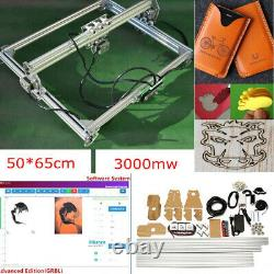 USA 3000MW 65x50cm Laser Engraving Cutting Machine Engraver Printer Desktop