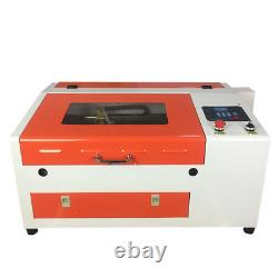 Upgraded Version CO2 40W 110/220V Laser Engraving Cutting Machine with USB port